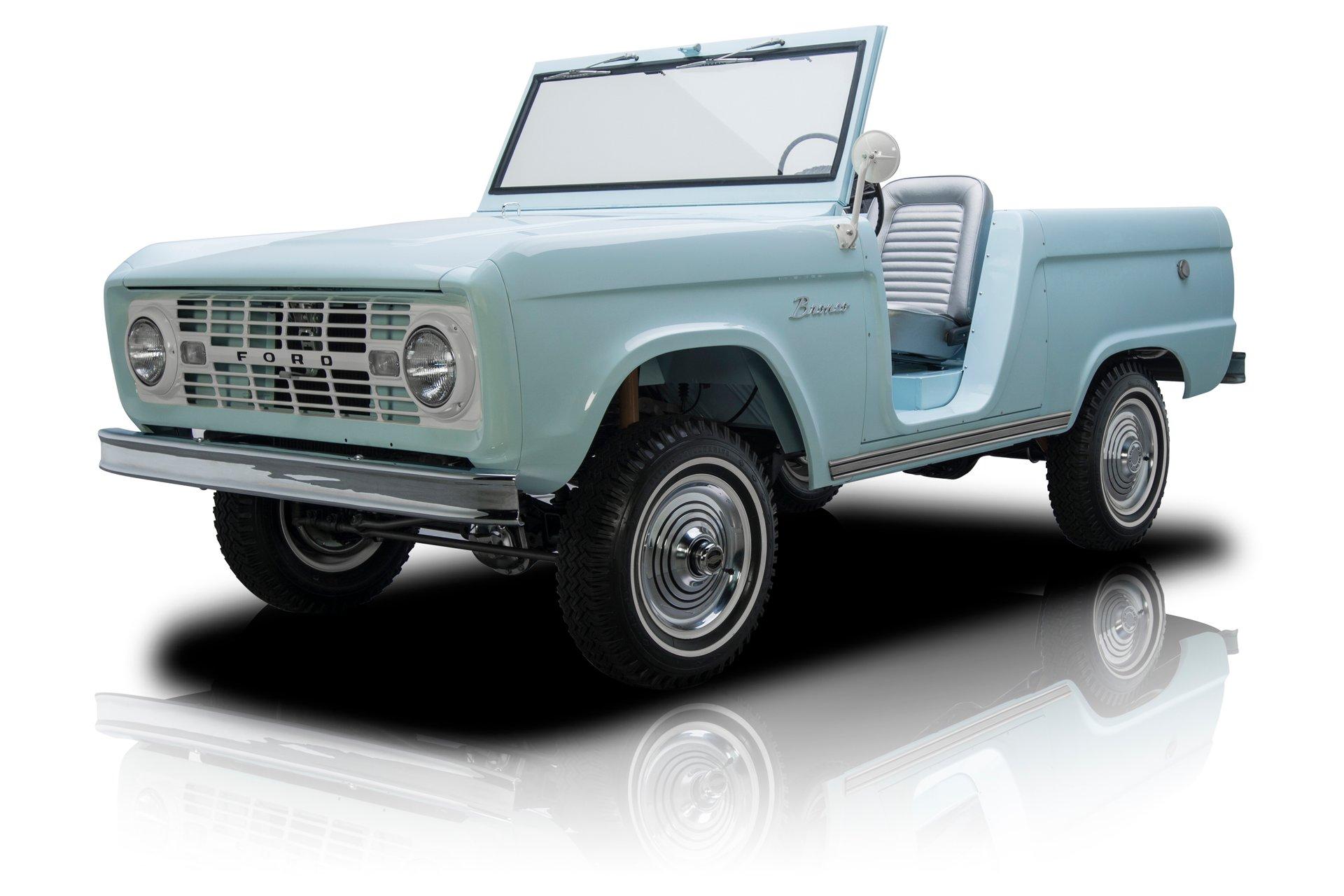 1966 ford bronco roadster u13