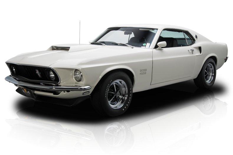 1969年 フォード マスタング ボス 429