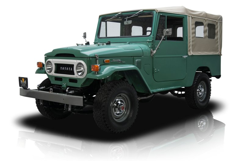 For Sale 1972 Toyota Land Cruiser