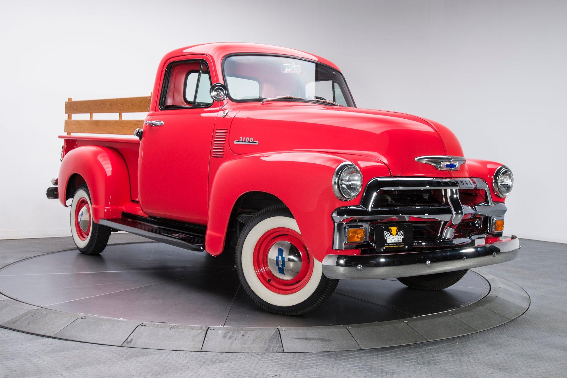 1954 Chevrolet 3100 Pickup Truck Berlin Motors Pick Up For Sale