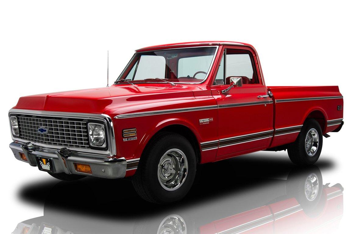 1972 chevrolet c10 cheyenne pickup truck