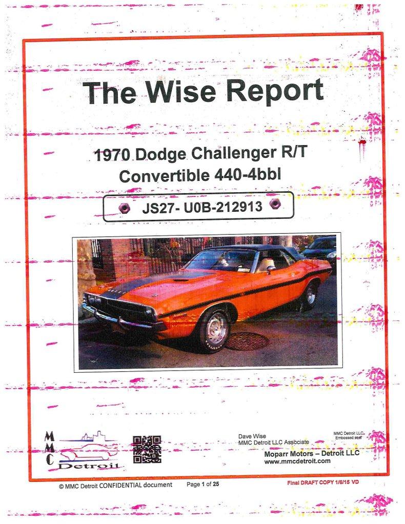 1970 Dodge Challenger 94