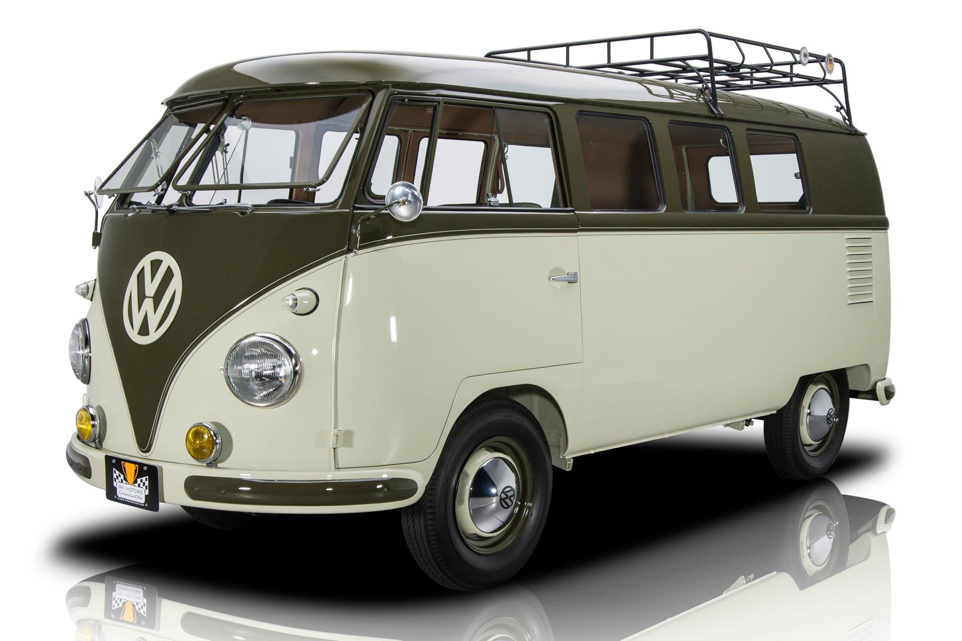 1958 volkswagen 11 window microbus