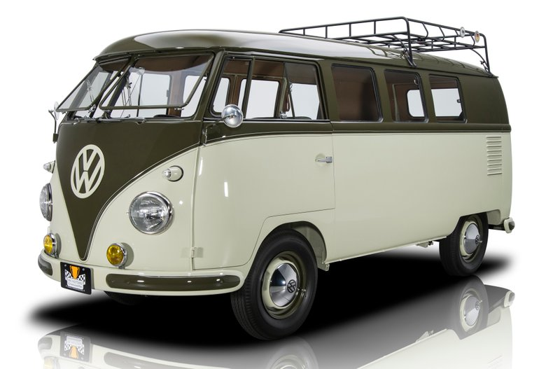 For Sale 1958 Volkswagen 11-Window Microbus