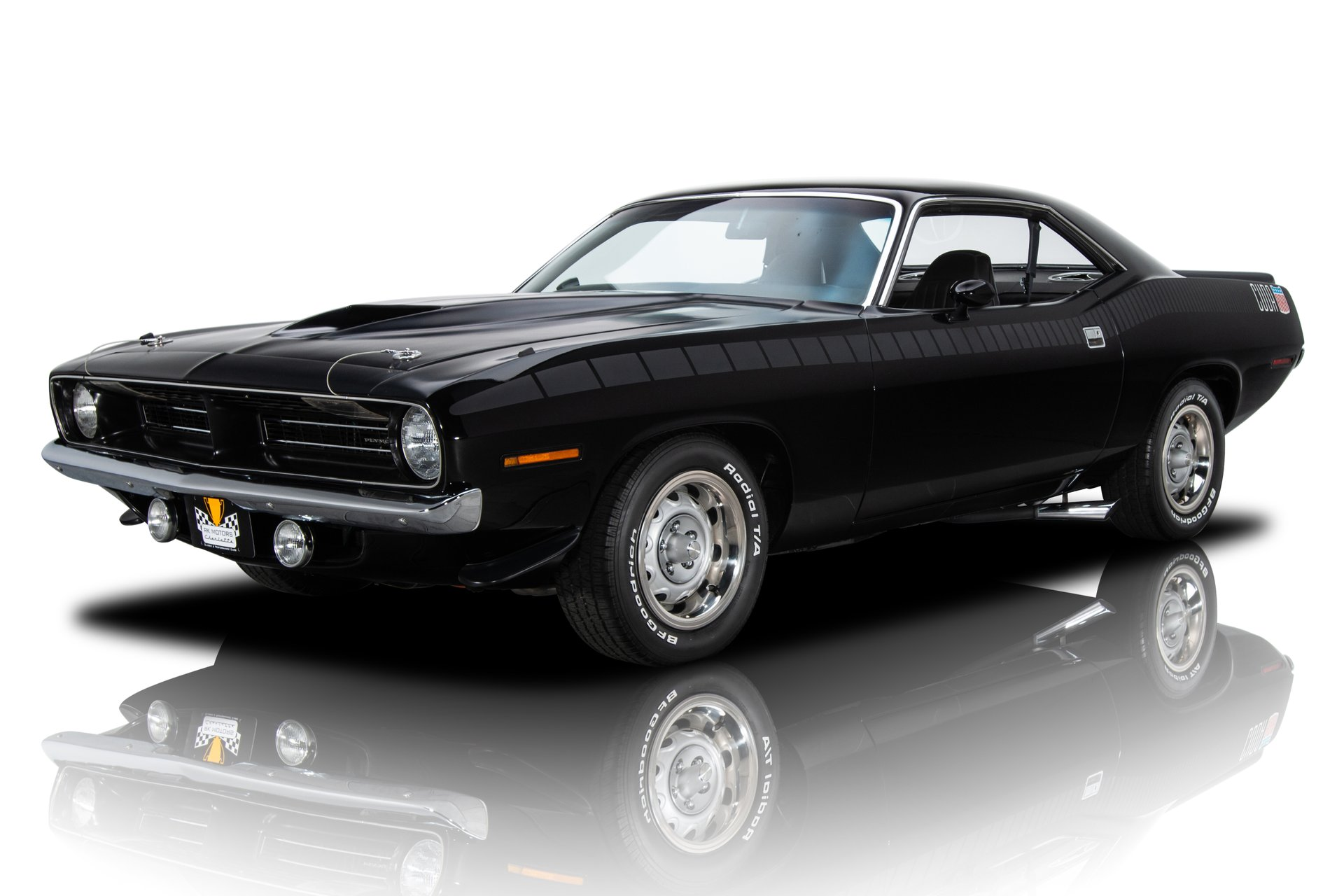 1970 plymouth barracuda cuda aar tribute