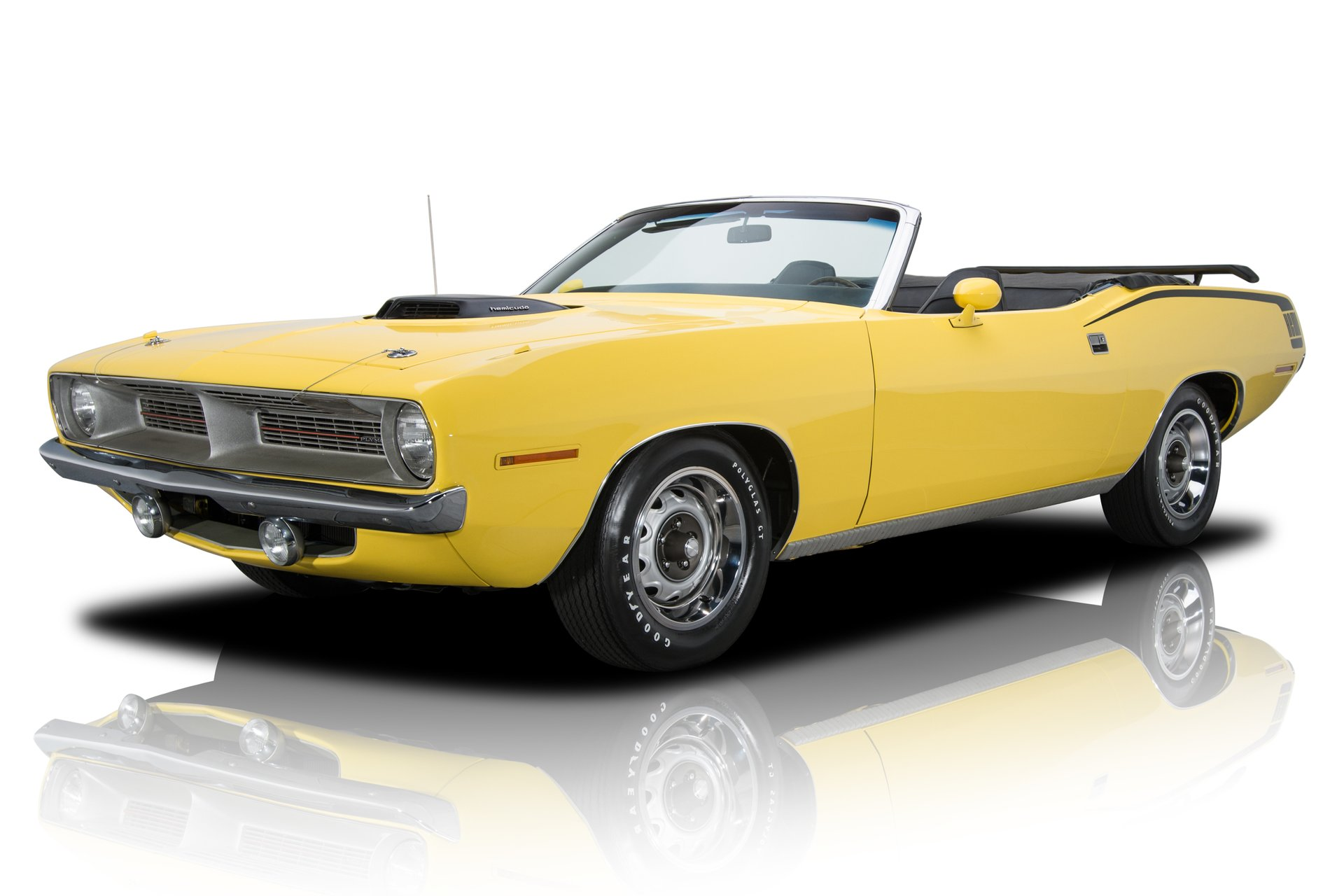 1970 plymouth barracuda hemi cuda tribute