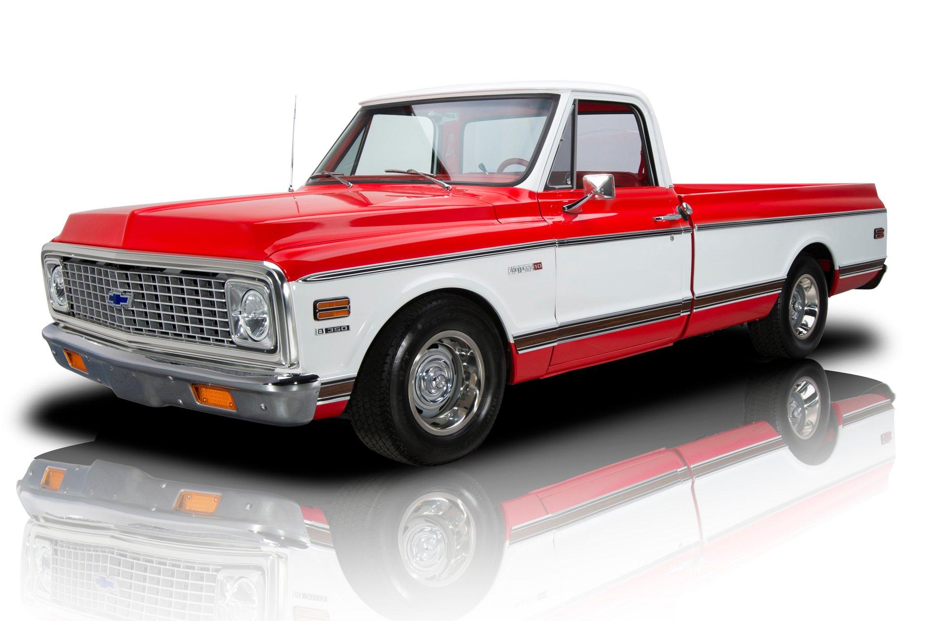 1972 chevrolet c10 cheyenne super pickup truck