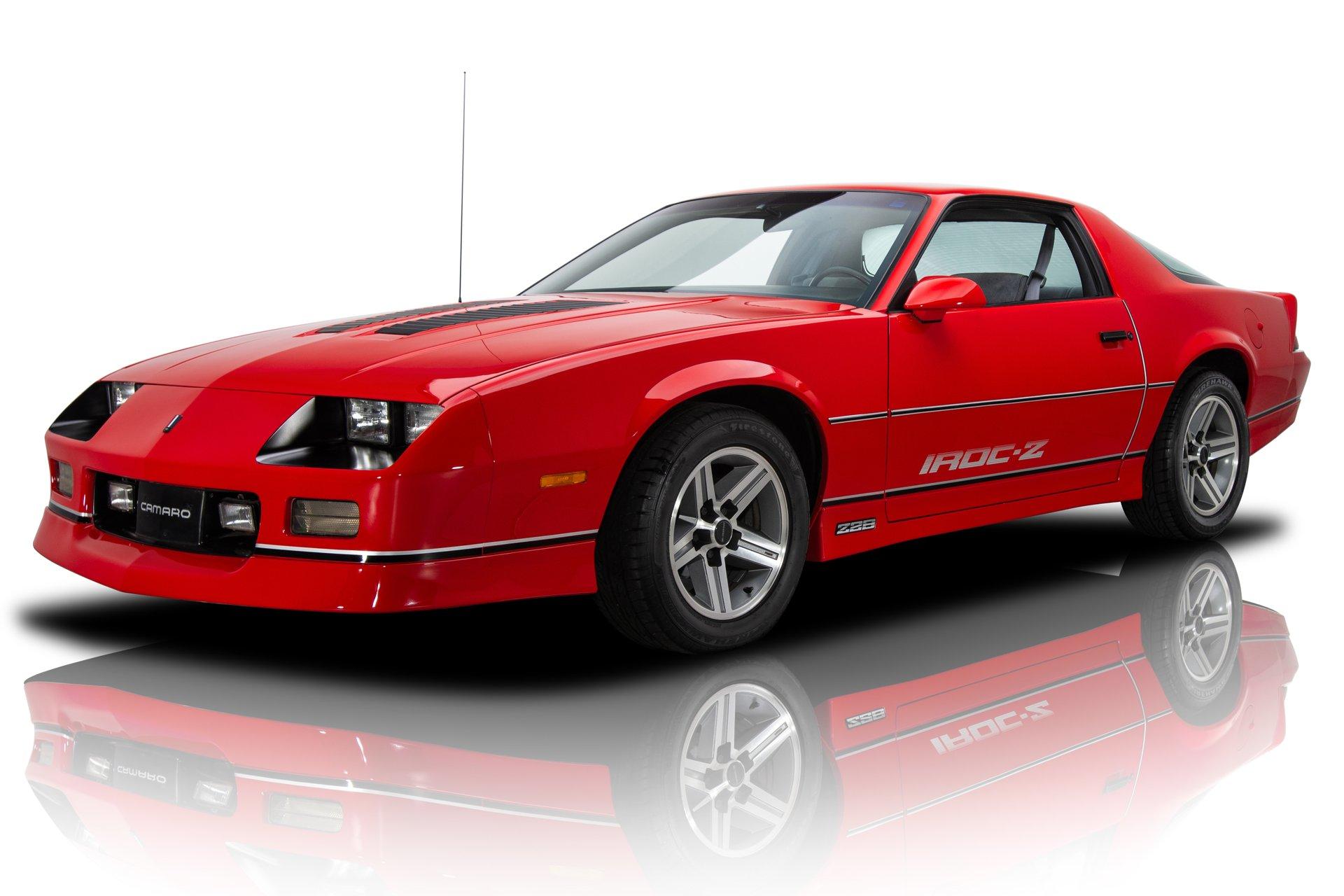 136212 1986 Chevrolet Camaro Rk Motors Classic Cars For Sale