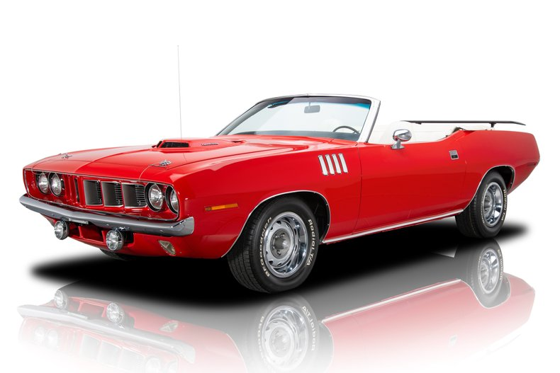 1971 plymouth barracuda hemi cuda tribute