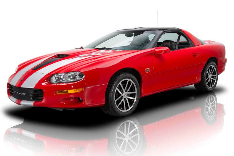 2002 chevrolet camaro ss 35th anniversary edition