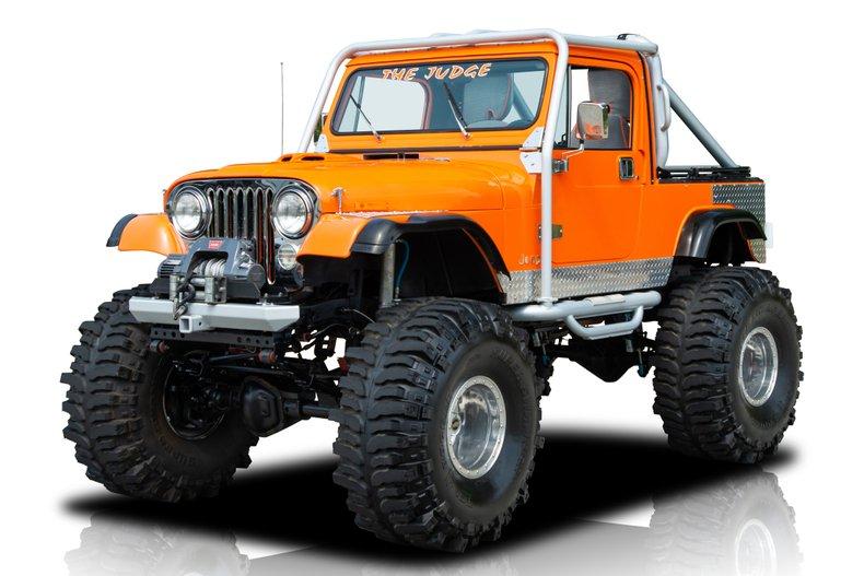 For Sale 1985 Jeep CJ 8 Scrambler