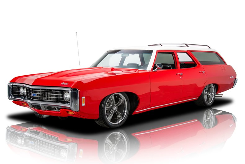 1969 chevrolet brookwood station wagon