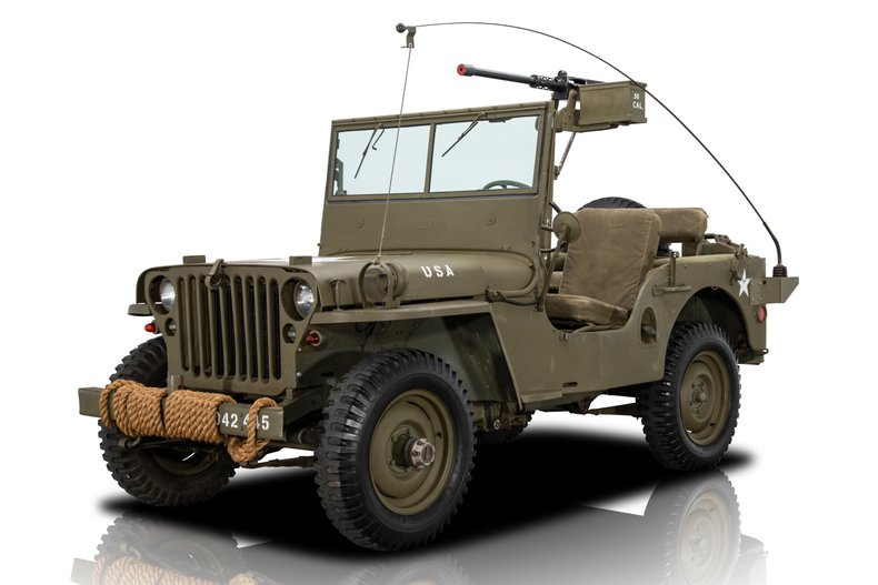 For Sale 1947 Willys CJ-2A
