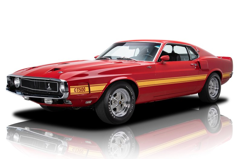 For Sale 1969 Ford Shelby Mustang GT500