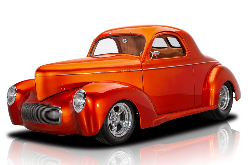 1940 willys americar coupe