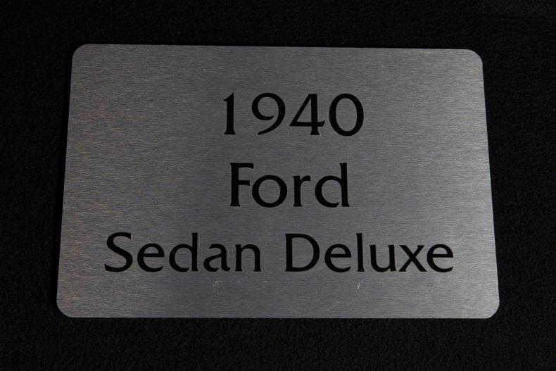 1940 Ford Sedan 107
