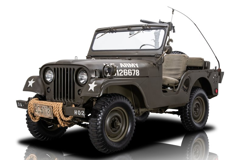 For Sale 1953 Willys M38A1
