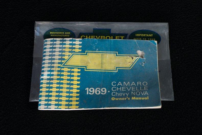 1969 Chevrolet Camaro 73