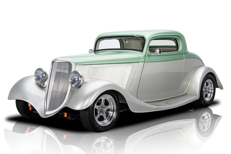 For Sale 1934 Ford 3-Window