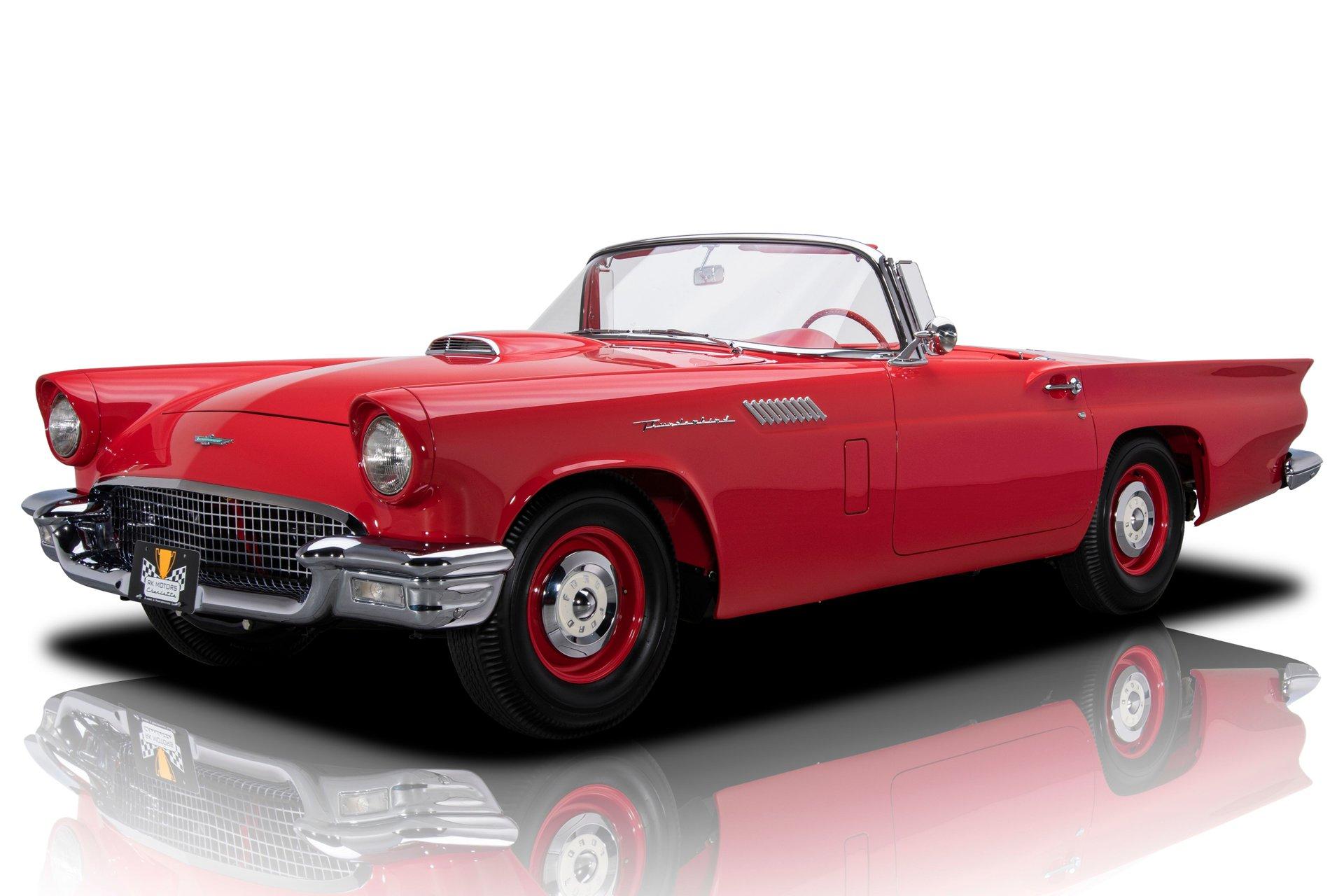 1957 ford thunderbird phase i d f