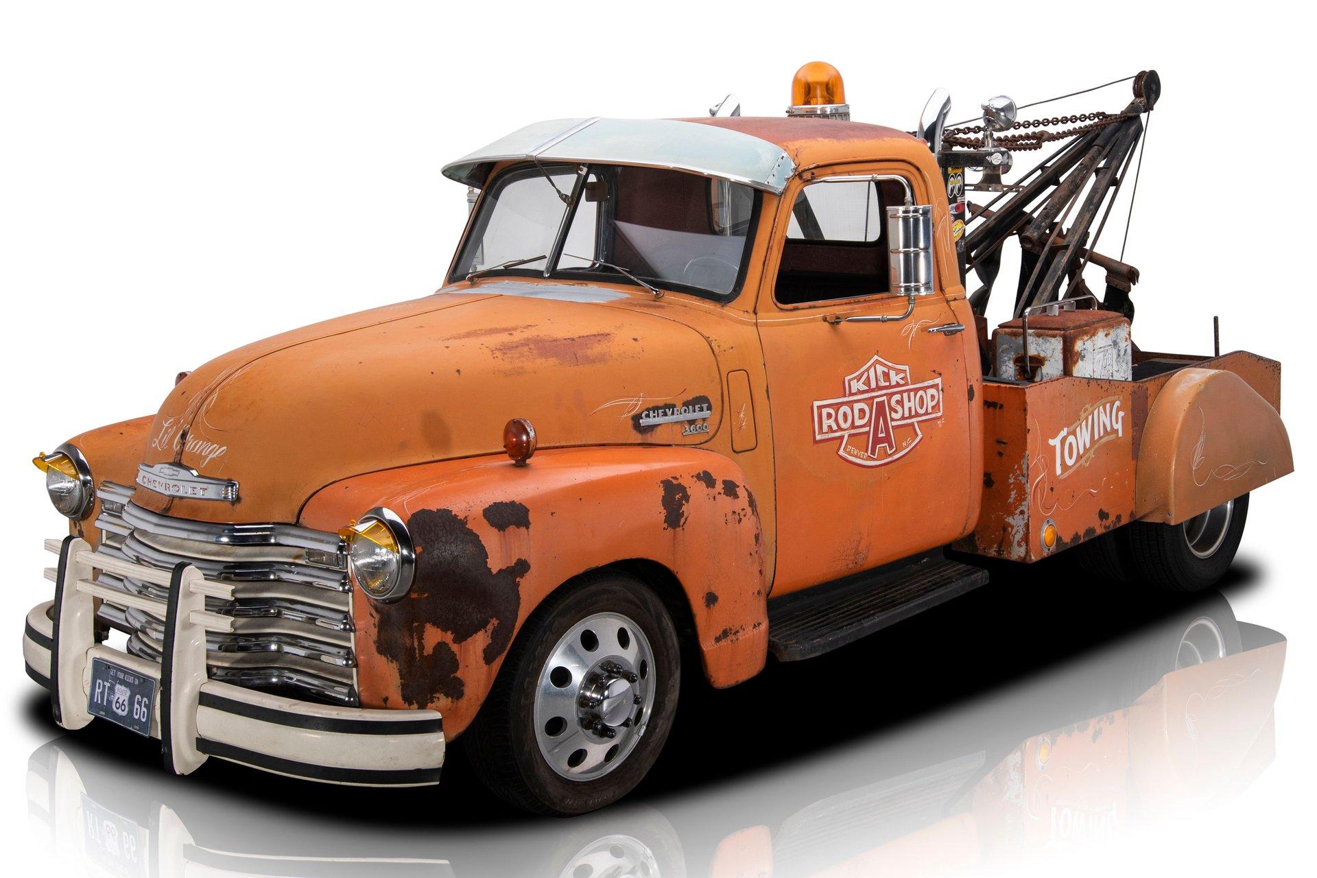 1950 chevrolet 3600 tow truck