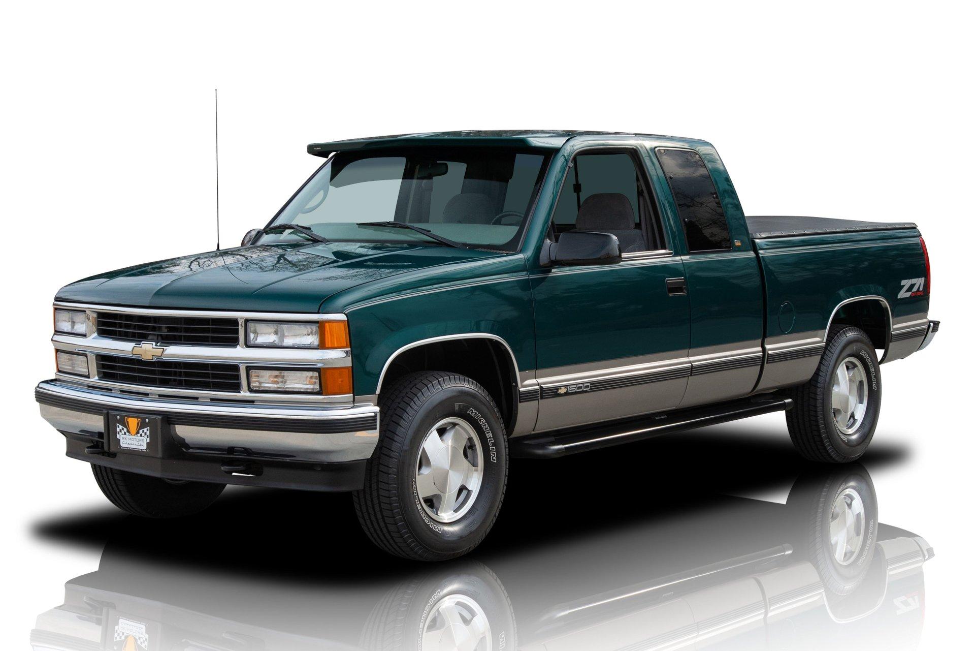 1998 chevrolet k 1500 silverado z71 pickup truck