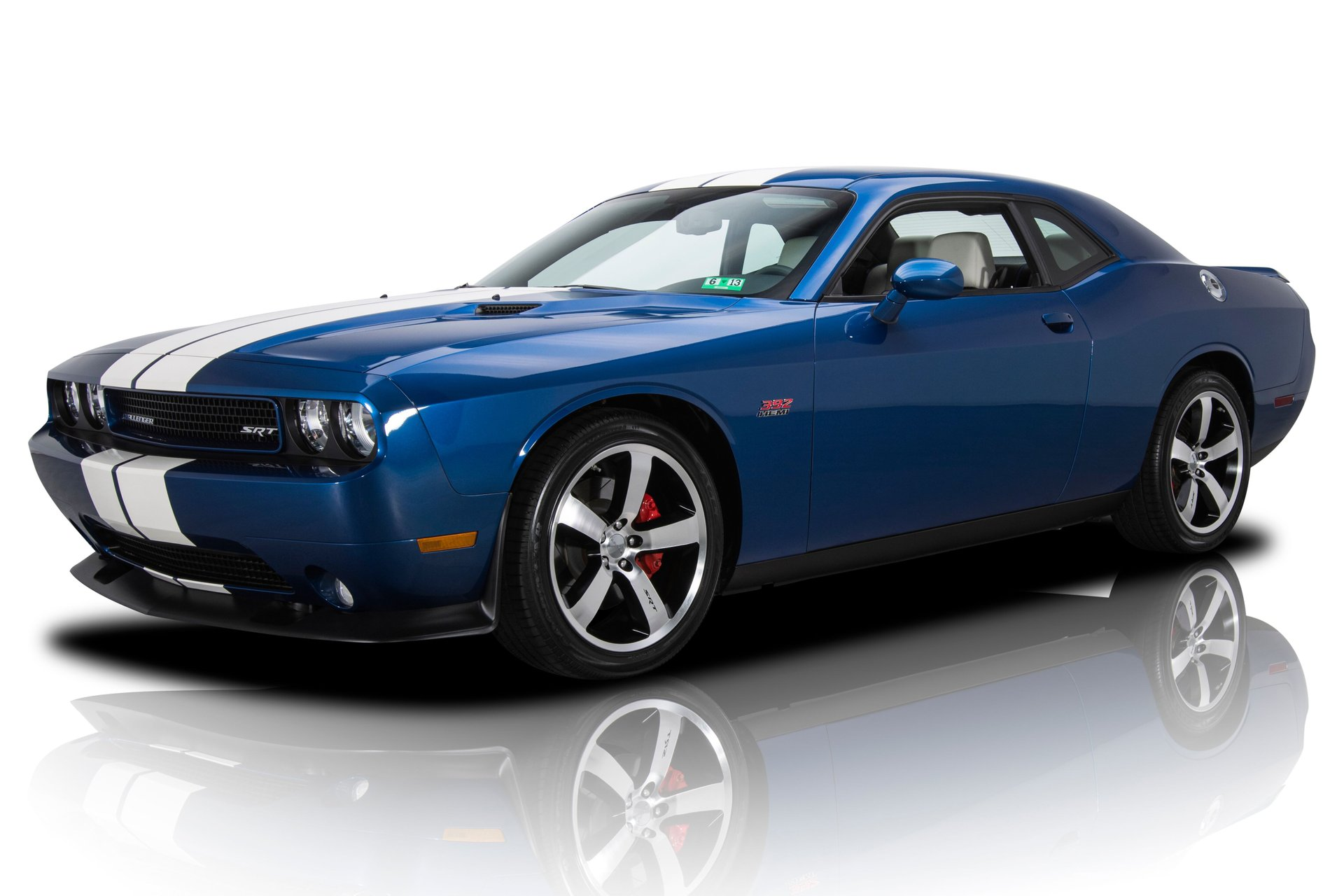2011 dodge challenger srt 8 inaugural edition