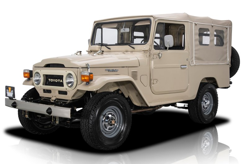 For Sale 1977 Toyota Land Cruiser