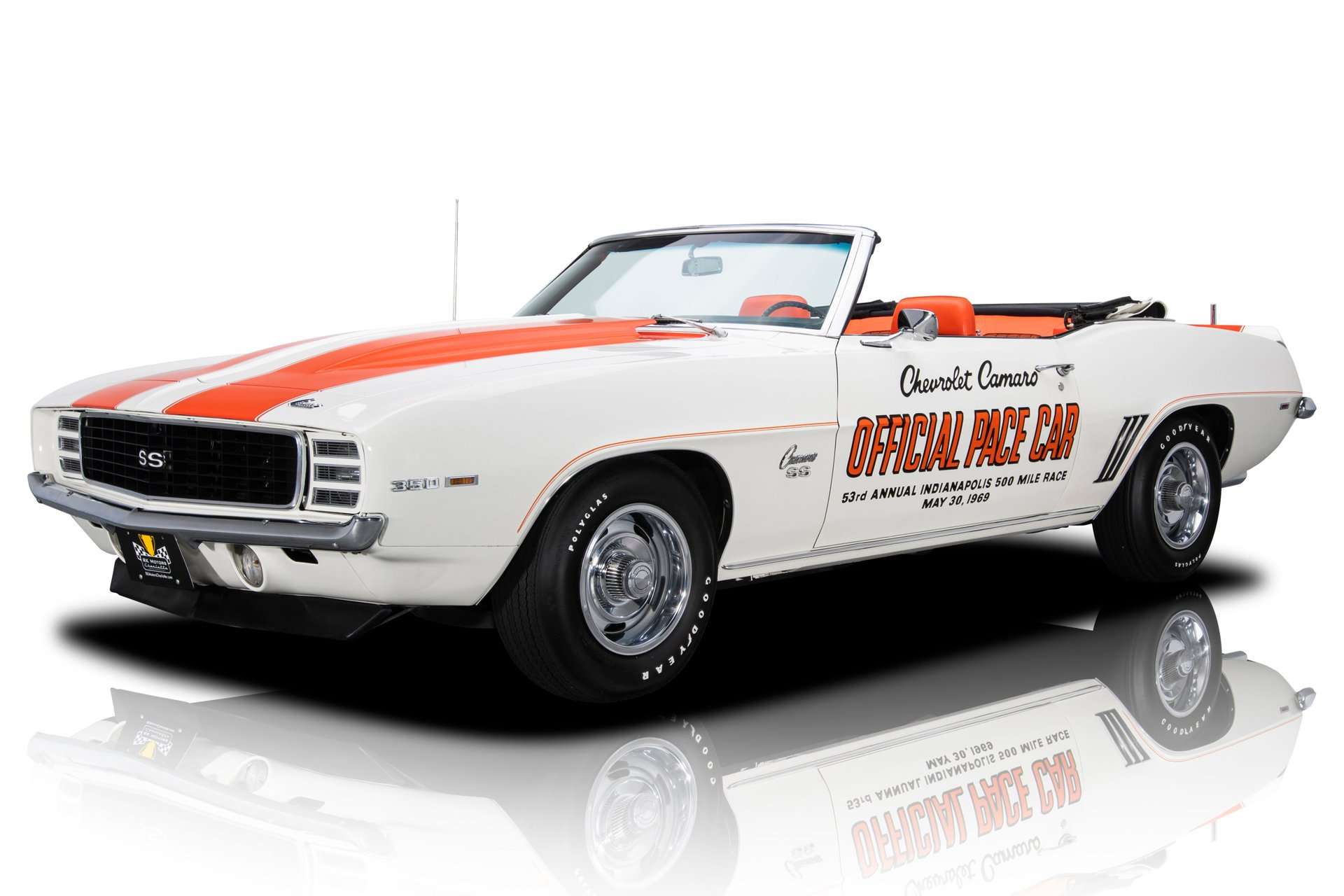 1969 chevrolet camaro indy pace car rs ss