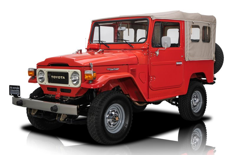 For Sale 1981 Toyota Land Cruiser