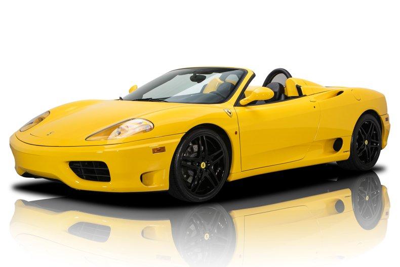 For Sale 2002 Ferrari 360