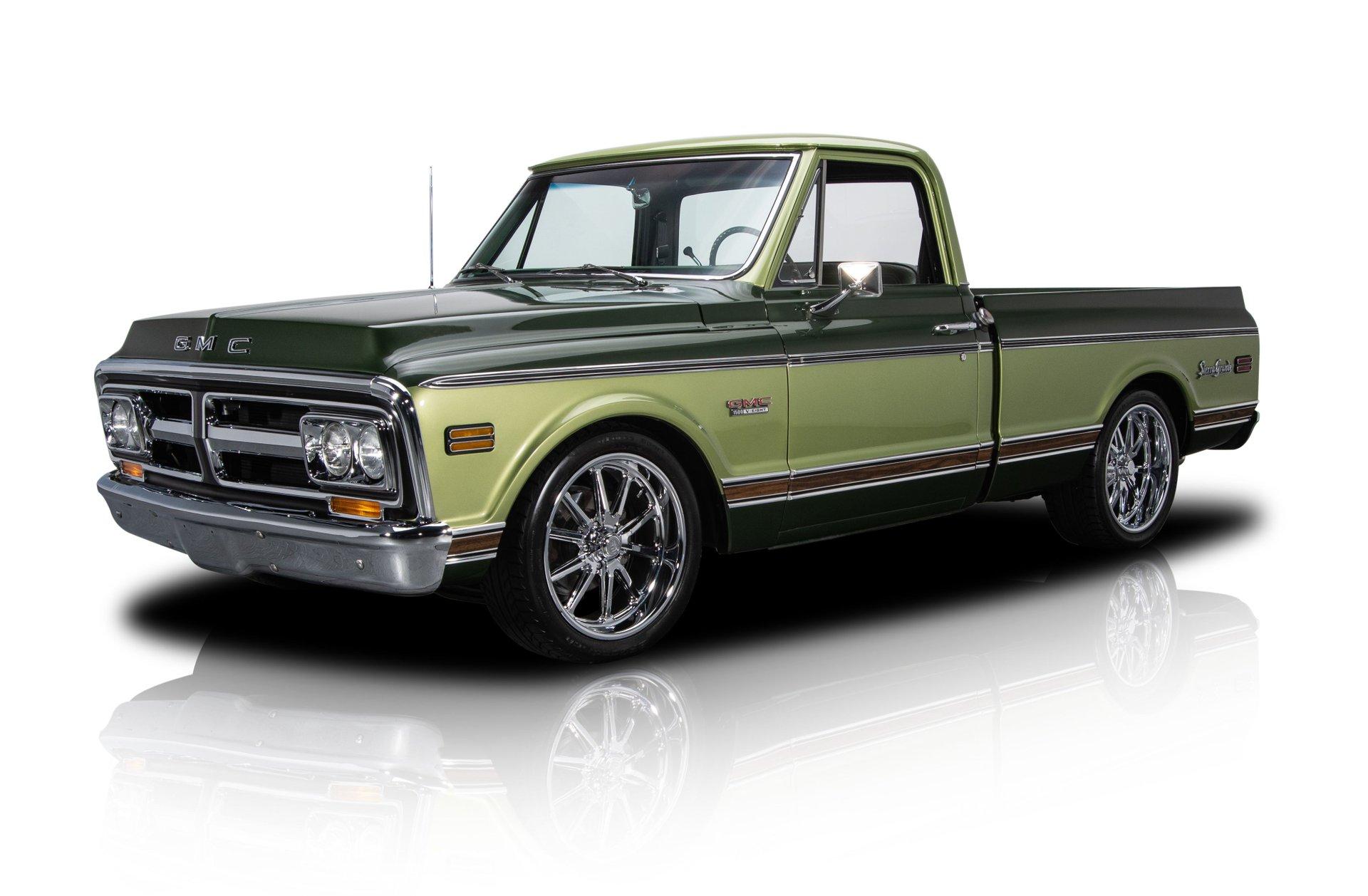 1970 gmc sierra grande pickup truck