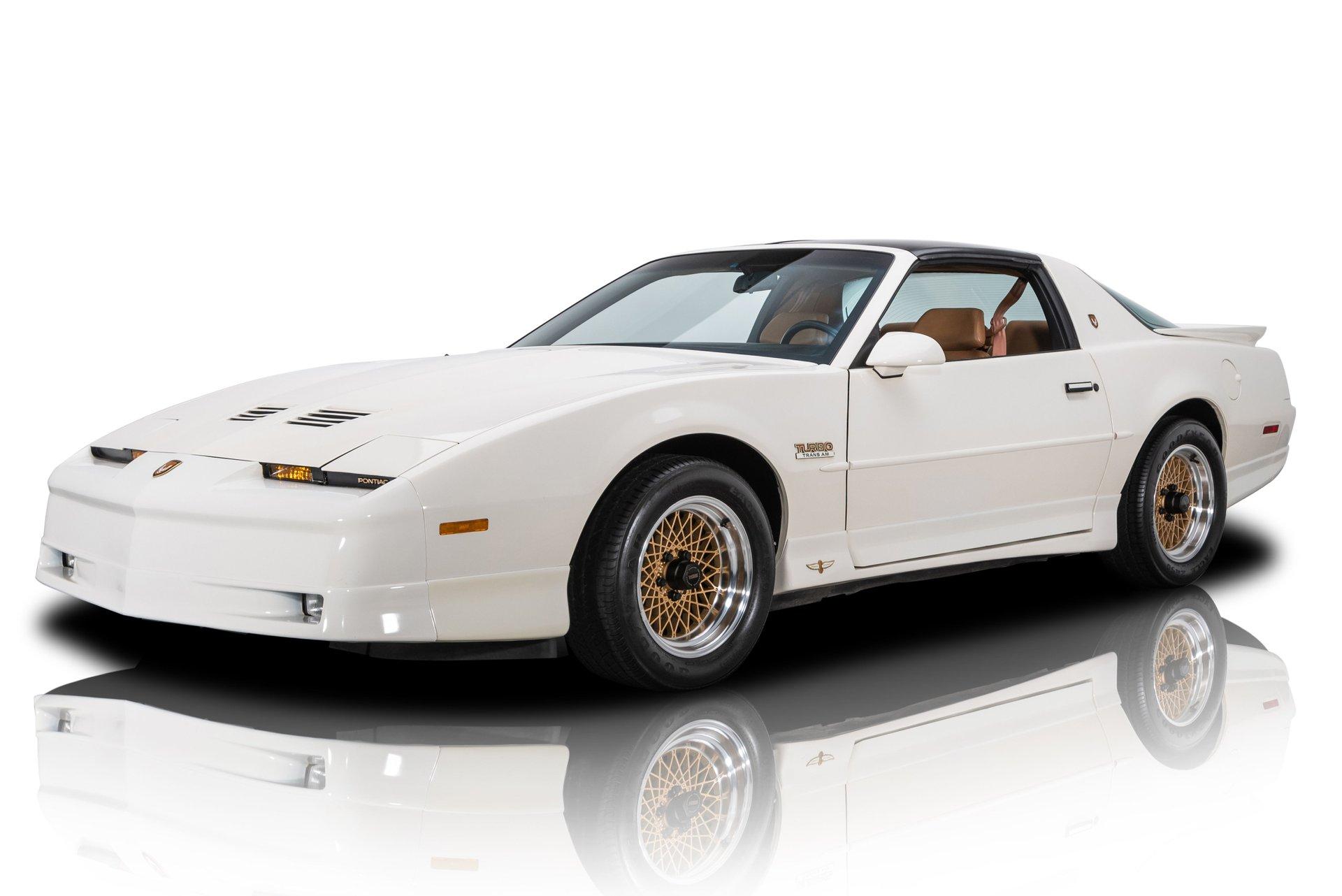1989 pontiac firebird trans am turbo pace car