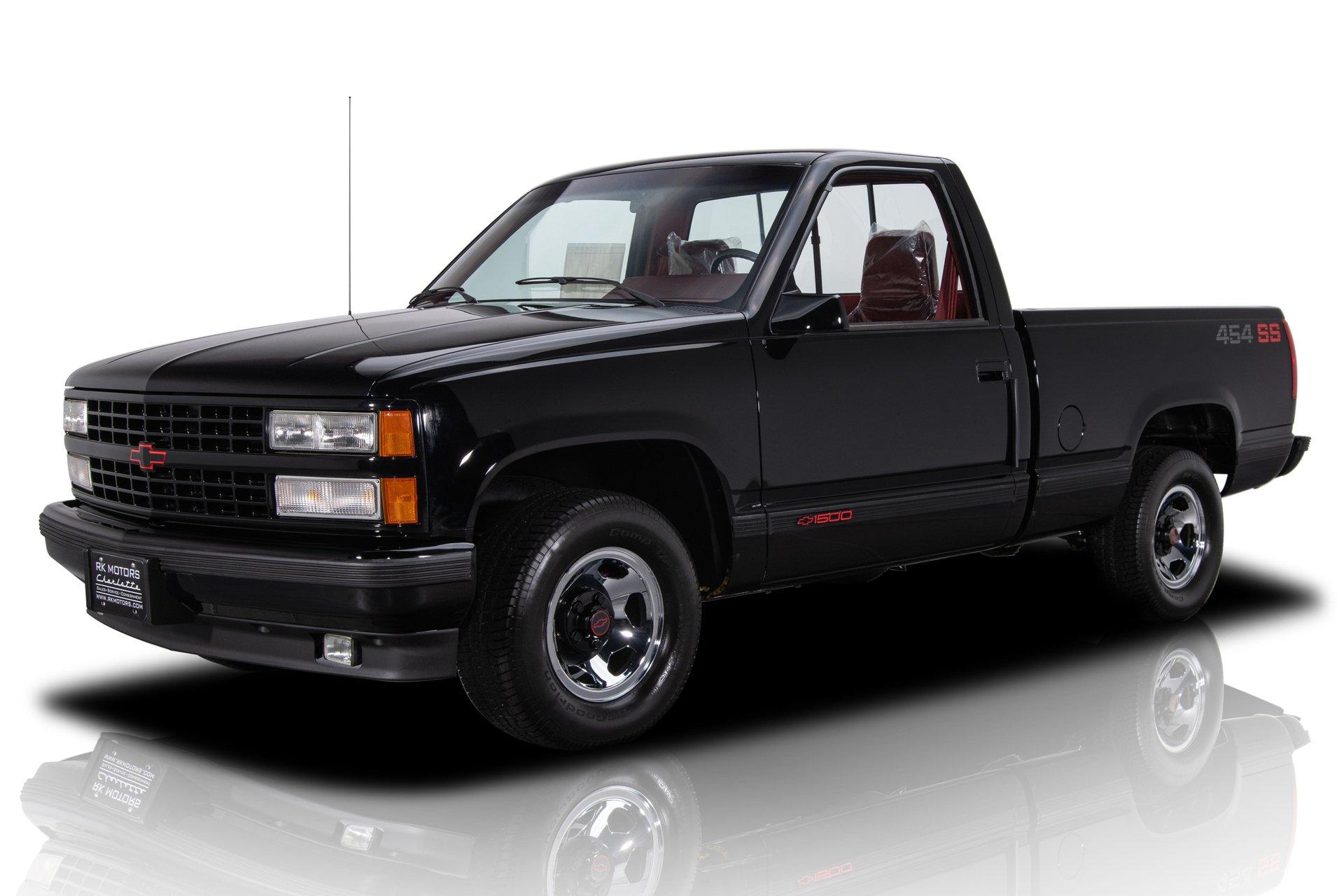 1990 chevrolet c 1500 454 ss pickup truck
