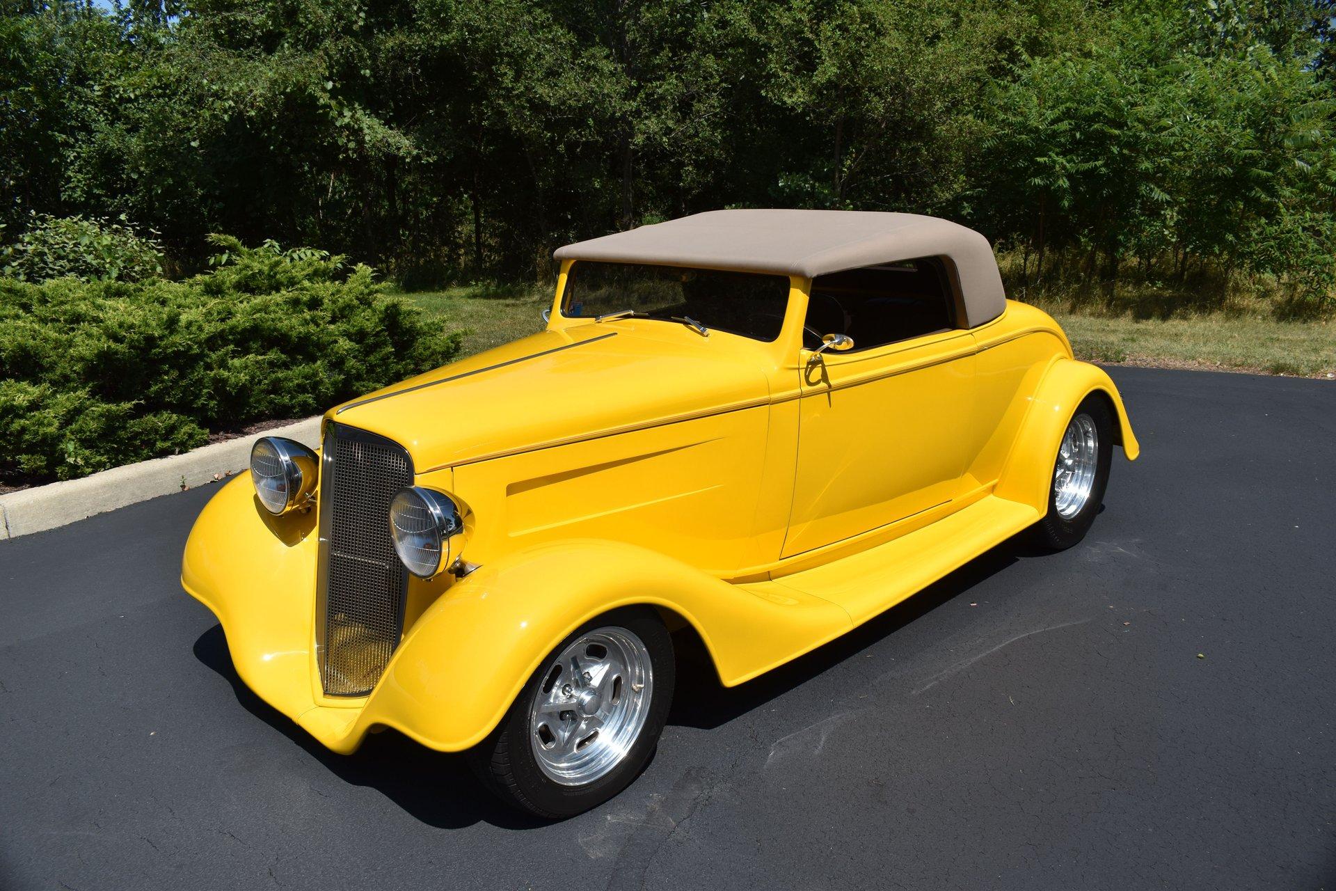 1934 chevrolet convertible