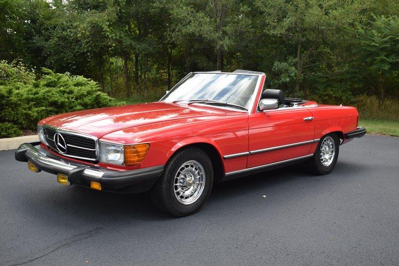 1982 Mercedes-Benz SL380