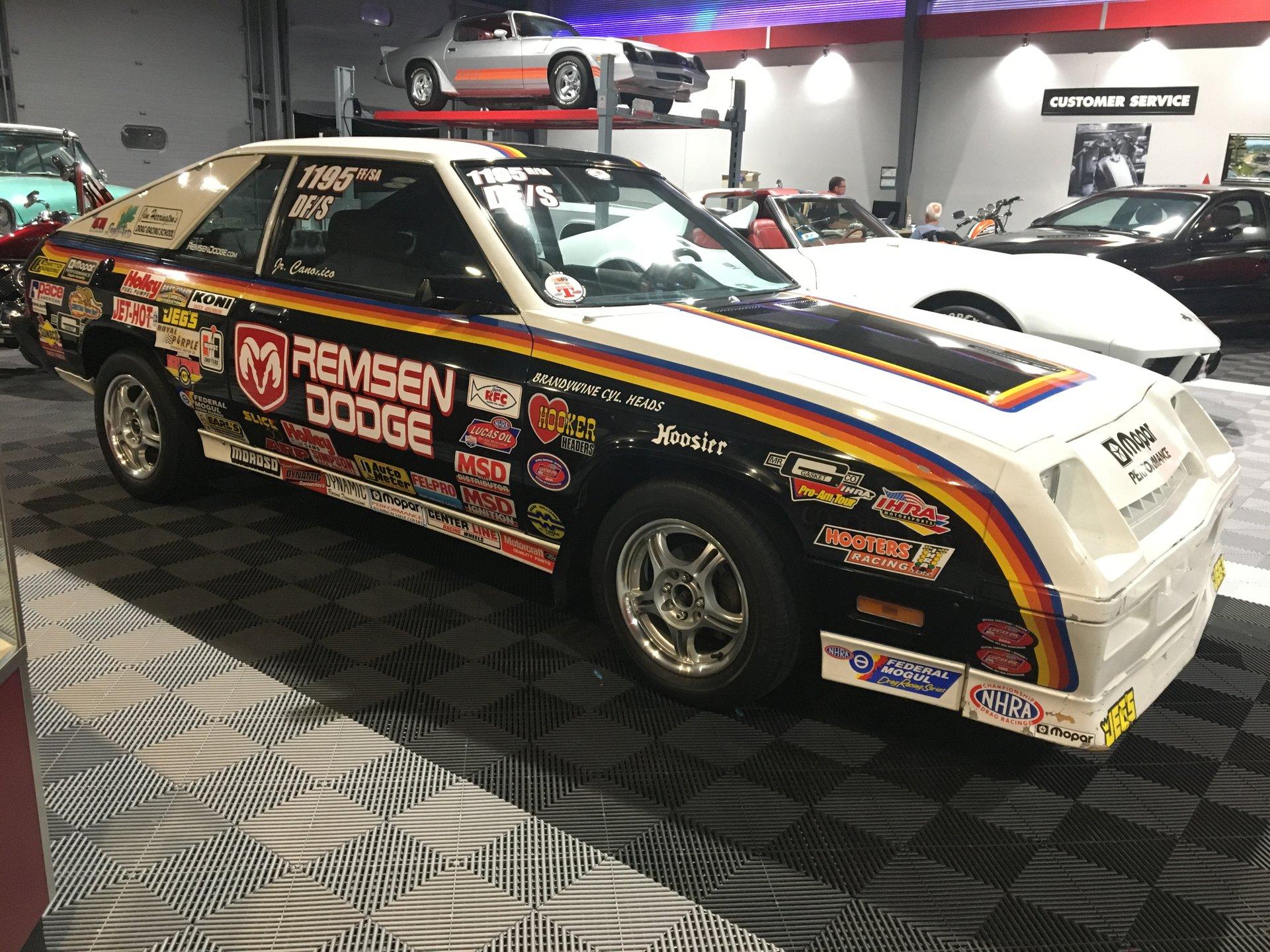 1984 dodge charger drag car