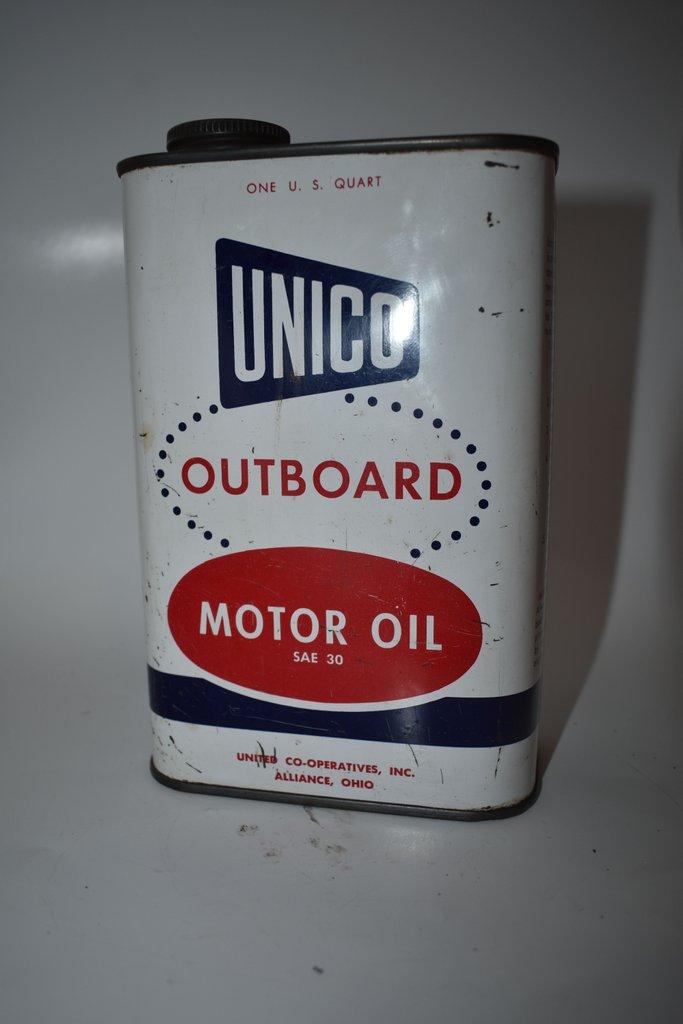 Unico outboard quart