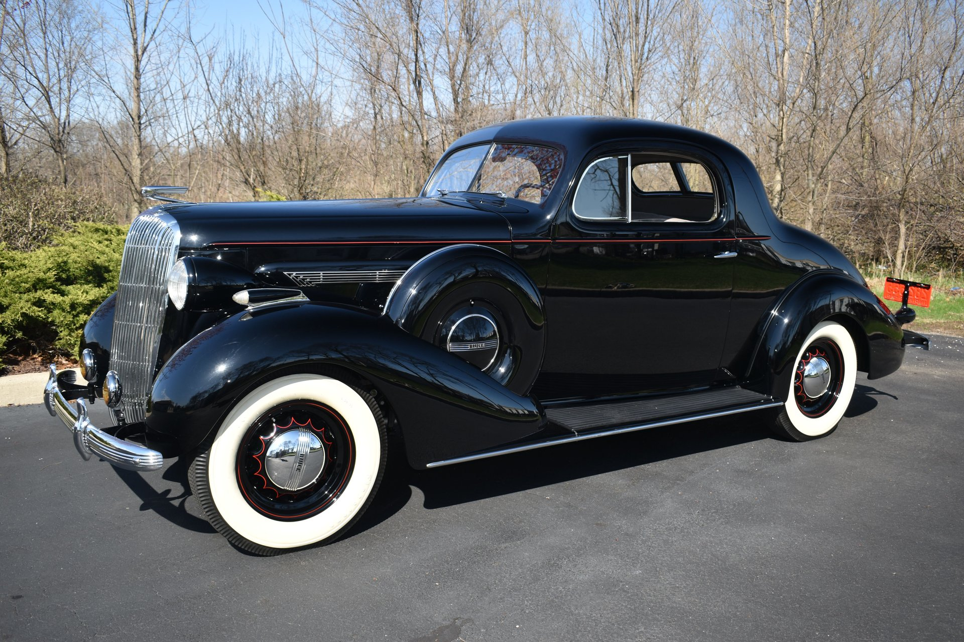 1936 buick coupe special series 40