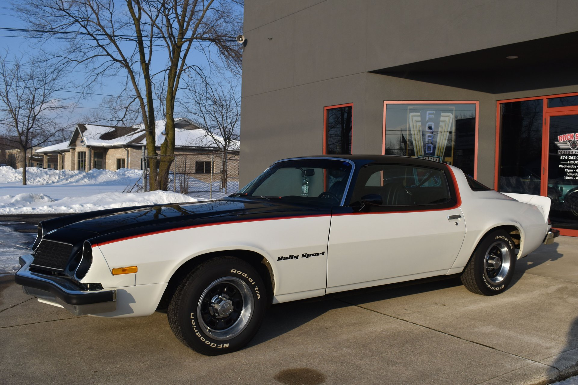 1976 chevrolet camaro rs