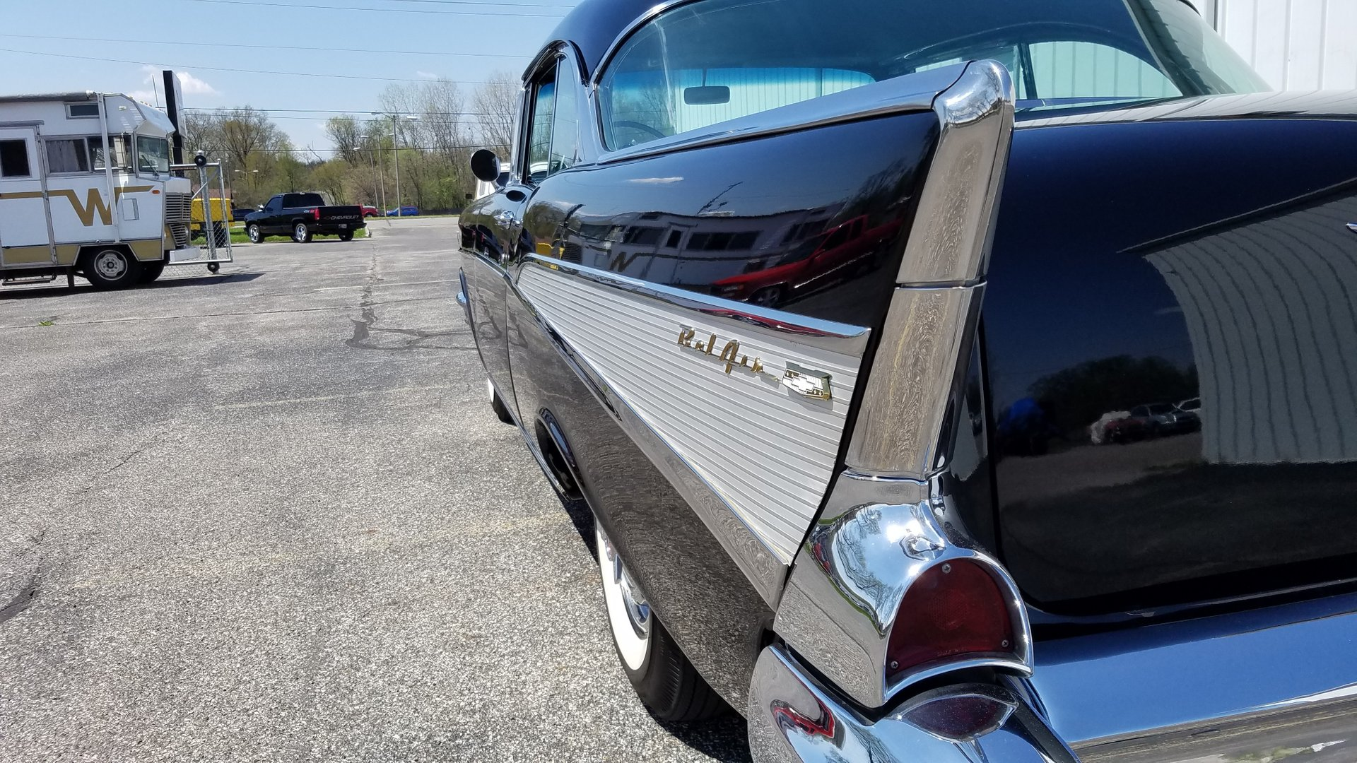 1957 Chevrolet Bel Air Rock Solid Motorsports Chevy Station Wagon