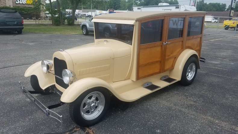 1929 Ford Woodie