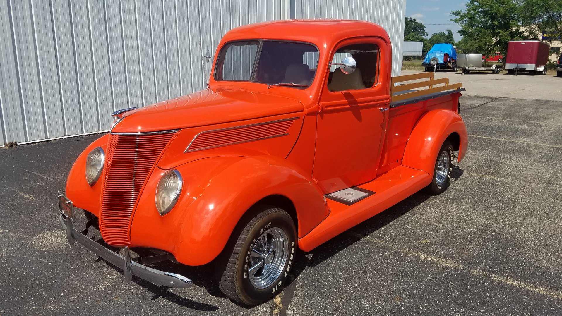 1937 ford pickup street rod