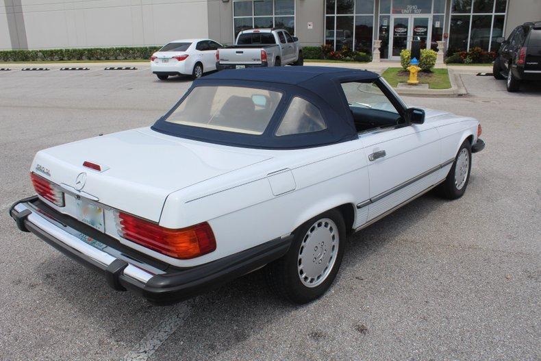1989 mercedes 560sl
