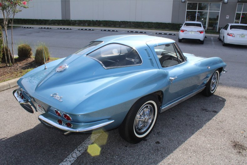 1963 chevrolet corvette split window