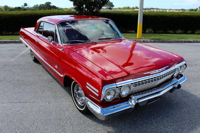 1963 chevrolet impala ss 409