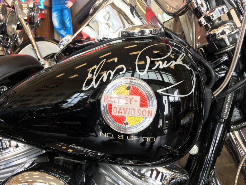 2007 harley davidson elvis special edition