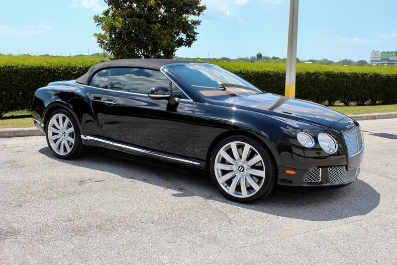 2012 bentley gtc