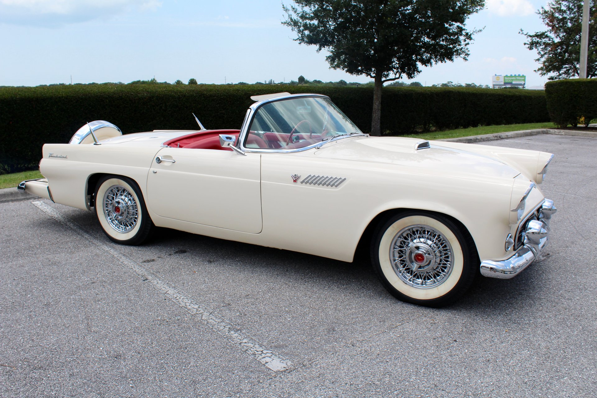 1955 Ford Thunderbird Black