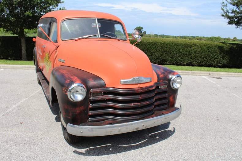 1947 chevrolet suburban fat girl panel truck